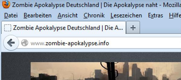 Jetzt neu: zombie-apokalypse.info