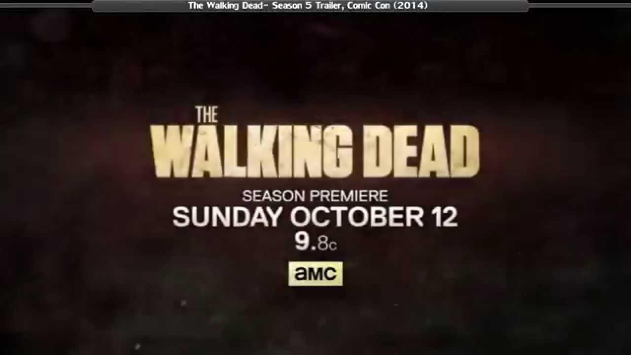 """Trailer zur 5. Staffel """"The Walking Dead"""""""