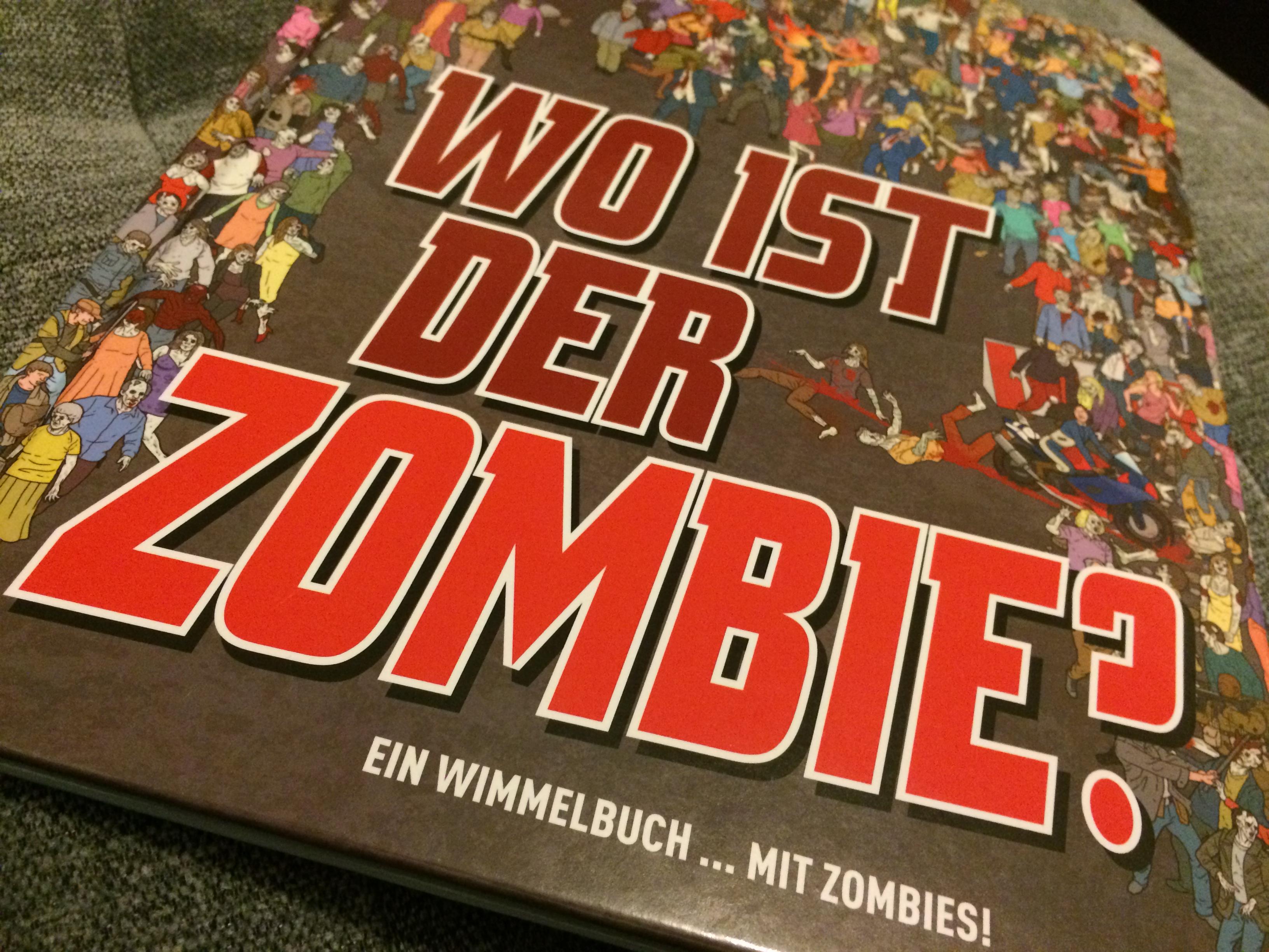 Wimmelbildbuch: Wo ist der Zombie?