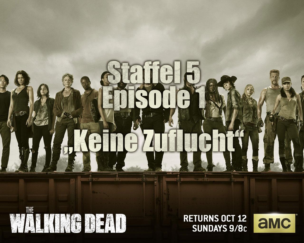 The Walking Dead S05E01 – Keine Zuflucht