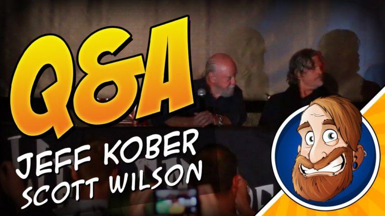 Q&A Panel mit Scott Wilson und Jeff Kober