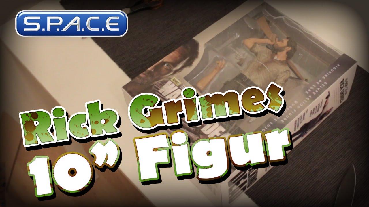 Unboxing Rick Grimes 10″ Action Figur McFarlane Toys
