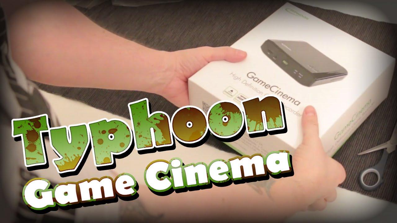 Typhoon GameCinema Unboxing und Test