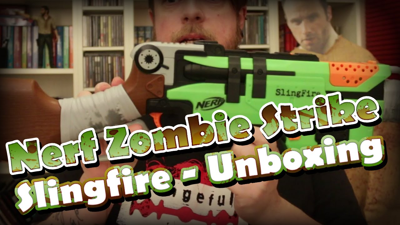 Nerf Zombie Strike Slingfire Unboxing und Review