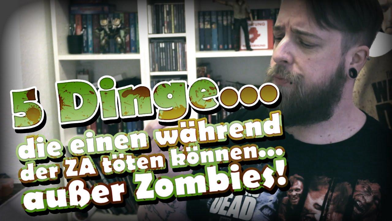 5 Dinge, die einen während der Zombie Apokalypse töten können… außer Zombies!