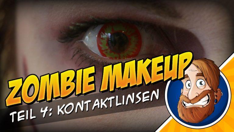 Zombie MakeUp Tutorial 4 – Kontaktlinsen