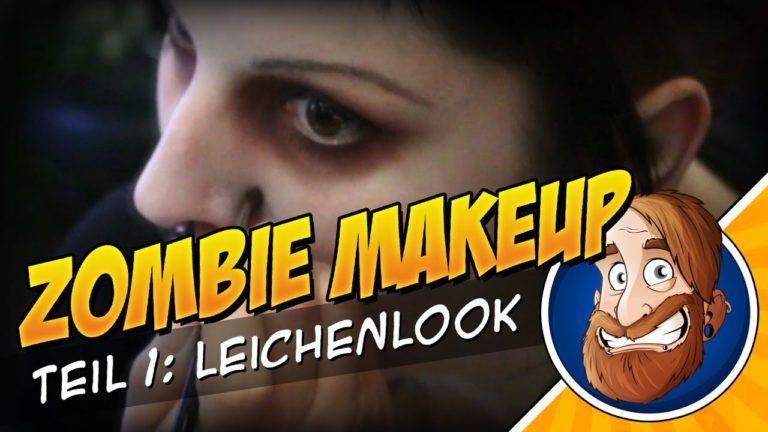 Zombie MakeUp Tutorial 1 – Leichenblässe für Halloween