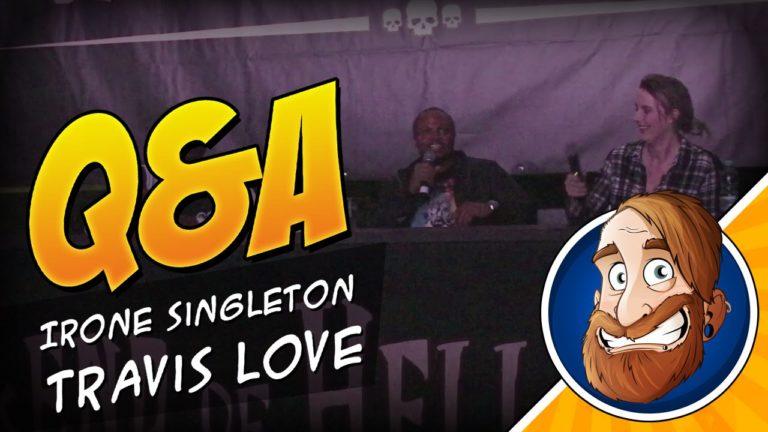 Q&A Panel mit IronE Singleton und Travis Love auf dem Weekend of Hell
