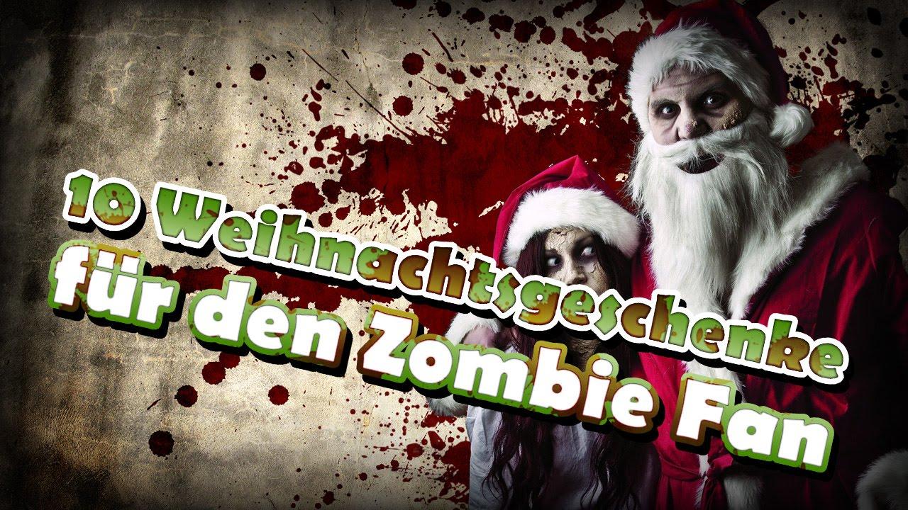 10 Weihnachtsgeschenke für den Zombie Fan