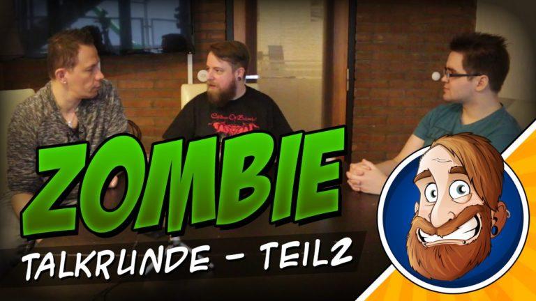 """Talkrunde """"Zombie Apokalypse – Wie geht es weiter?"""" Teil 2"""