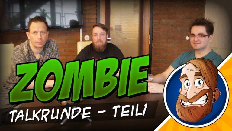 """Talkrunde """"Zombie Apokalypse – Was nun?"""" Teil 1"""