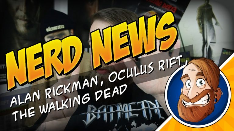 Alan Rickman gestorben, Walking Dead Starttermin, Oculus Rift – Nerd News 001
