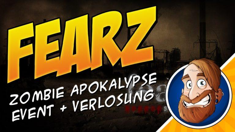 Überlebst Du die Zombie Apokalypse? Fearz – Das Event und Gewinnspiel