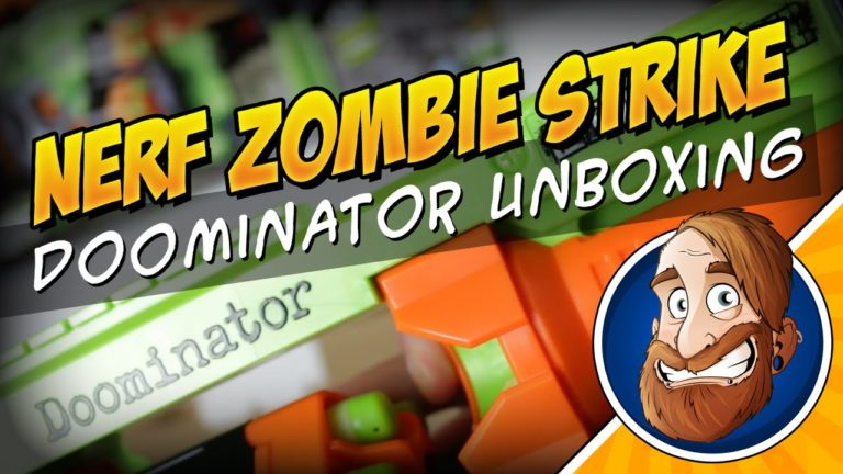 Nerf Zombie Strike Doominator Unboxing und Review