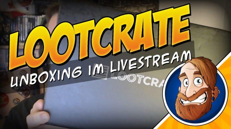 Lootcrate Unboxing – Januar-Thema: Alien Invasion