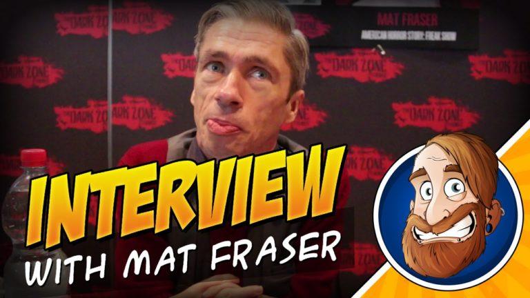 Interview mit Mat Fraser auf der Dark Zone Horrorcon