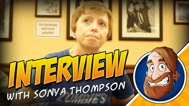 Kurzes Interview mit Sonya Thompson auf dem Weekend of Dead Walkers