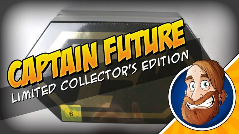 Captain Future Limited Collector's Blu-ray Edition – Unboxing