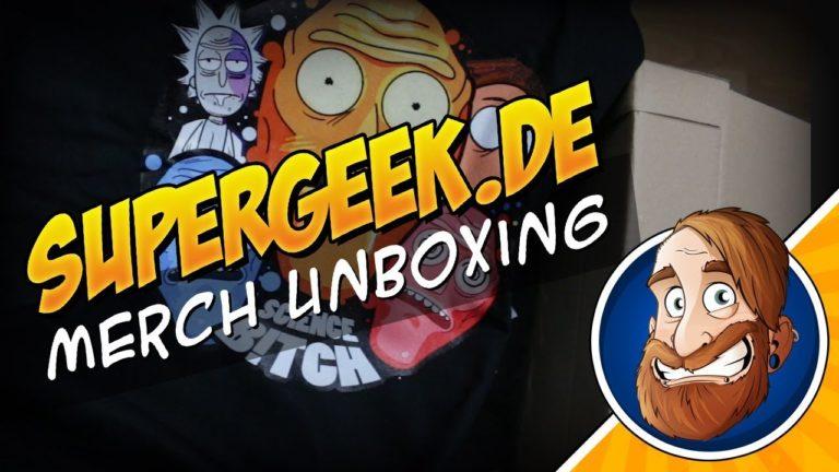 Unboxing Supergeek Merch Lieferung