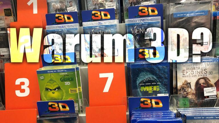 Wozu gibt es noch 3D Filme im Handel?