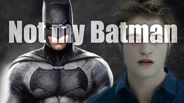 Robert Pattinson heißer Kandidat für The Batman – Nicht mit mir!