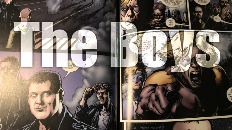 Comicvorstellung: The Boys von Panini Comics