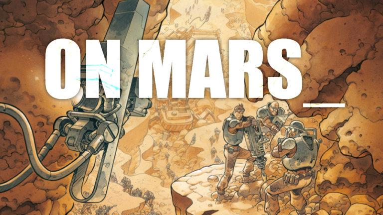 Comicvorstellung: On Mars_ vom Splitter Verlag