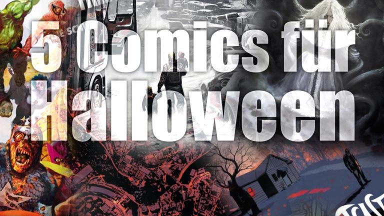 5 Comics für Halloween