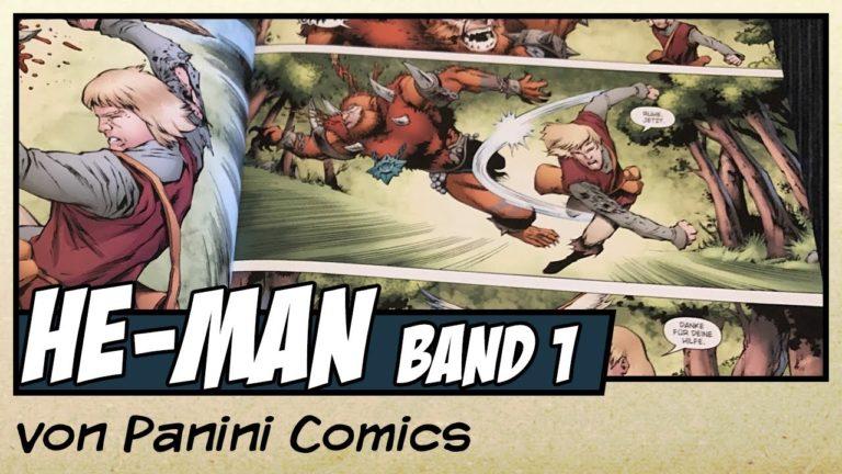 Comicvorstellung: He-Man und die Masters of the Universe Band 1 von Panini Comics (Video)