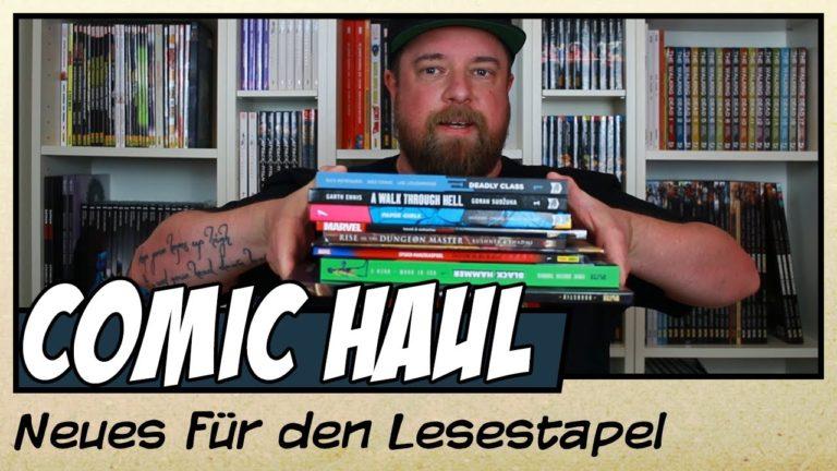 Comic Haul November 2019 (Video)