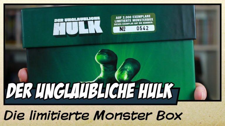 Der unglaubliche Hulk – die limitierte Monsterbox vorgestellt (Video)