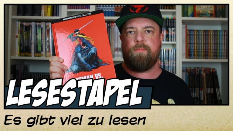 Mein aktueller Lesestapel bei Youtube (Video)