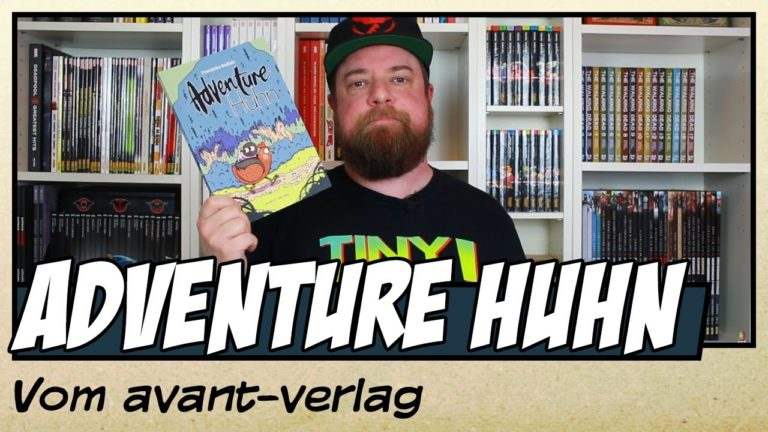 Comicvorstellung: Adventure Huhn vom avant-verlag (Video)