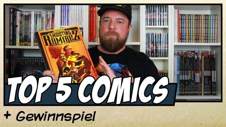 Meine Top 5 Comics von 2019 plus Verlosung (Video)