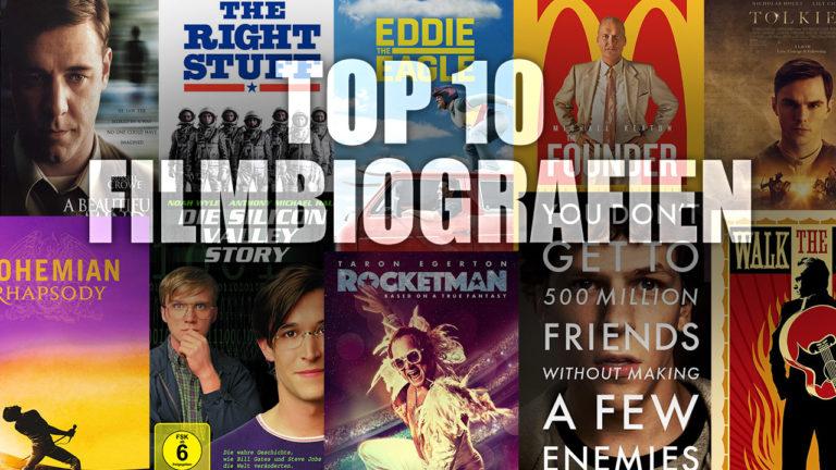 Meine Top 10 biografischen Filme