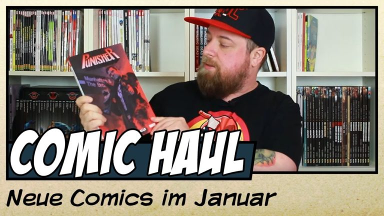 Meine Comic-Neuzugänge im Januar 2020 (Video)