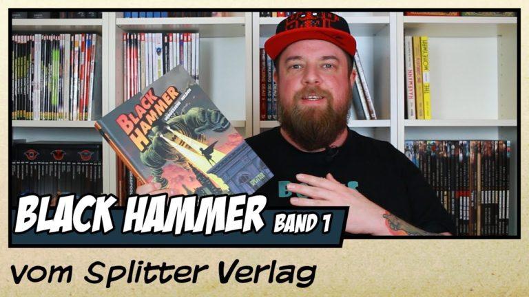 Comicvorstellung: Black Hammer Band 1 – Vergessene Helden vom Splitter Verlag (Video)