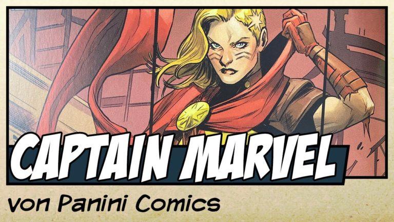 Comicvorstellung: Captain Marvel Band 1 – Eine für Alle, Alle für Eine von Panini Comics (Video)