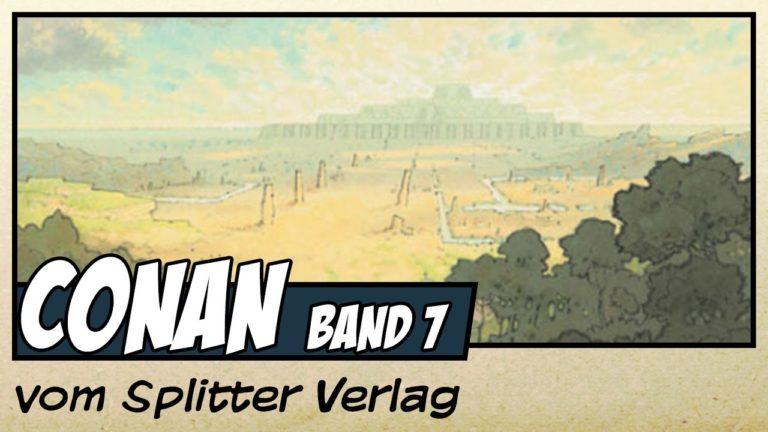 Comicvorstellung: Conan der Cimmerier –  Aus den Katakomben vom Splitter Verlag (Video)