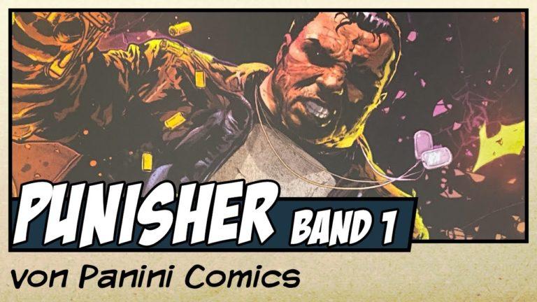 Comicvorstellung: Punisher Band 1 – Krieg gegen Alle von Panini Comics (Video)