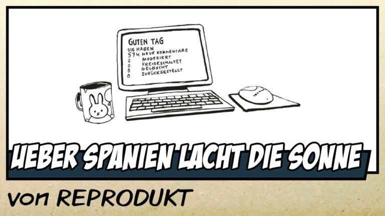 Comicvorstellung: Über Spanien lacht die Sonne von REPRODUKT (Video)