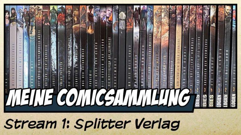 Meine Splitter Verlags Comicsammlung (Video)