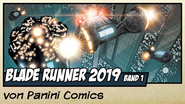 Comicvorstellung: Blade Runner 2019 Band 1 – Los Angeles von Panini Comics (Video)