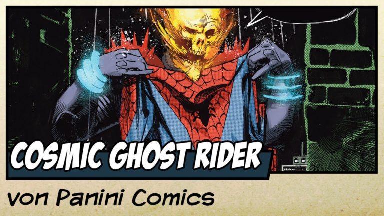 Comicvorstellung: Cosmic Ghost Rider zerstört die Marvel Geschichte von Panini Comics (Video)