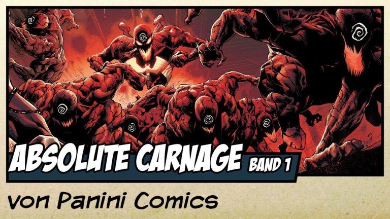 Comicvorstellung: Absolute Carnage Band 1 – Der Wahnsinn beginnt! von Panini Comics (Video)