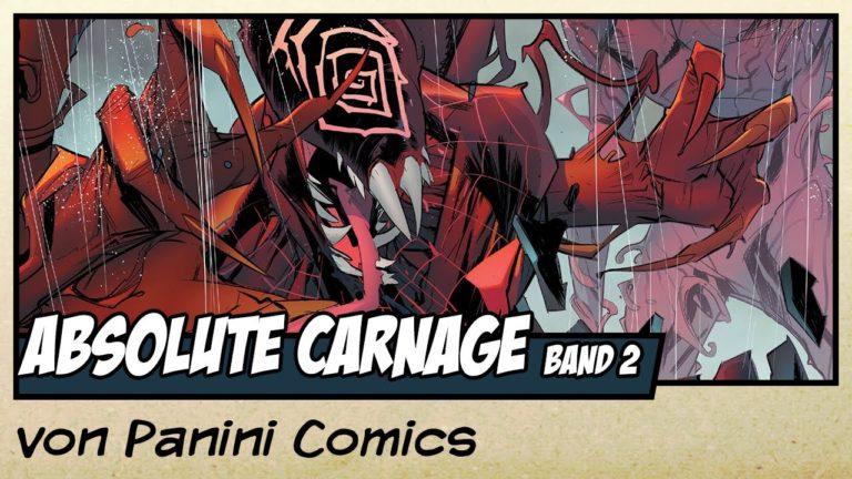 Comicvorstellung: Absolute Carnage Band 2 von Panini Comics (Video)