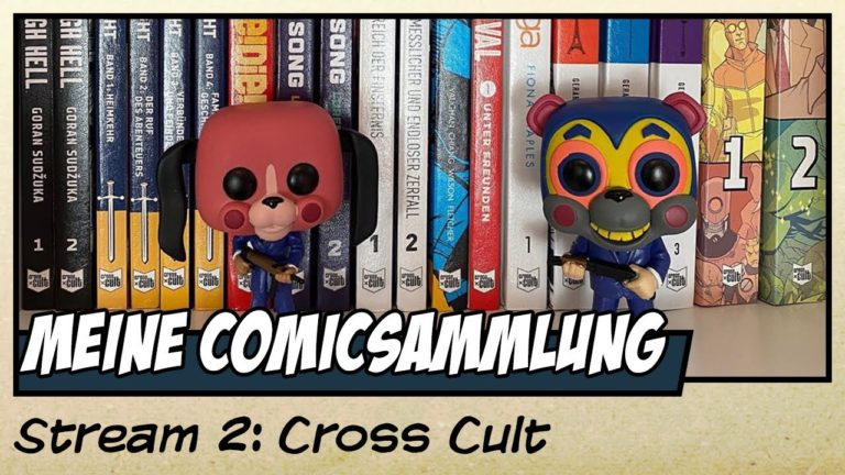 Meine Cross Cult Comicsammlung (Video)