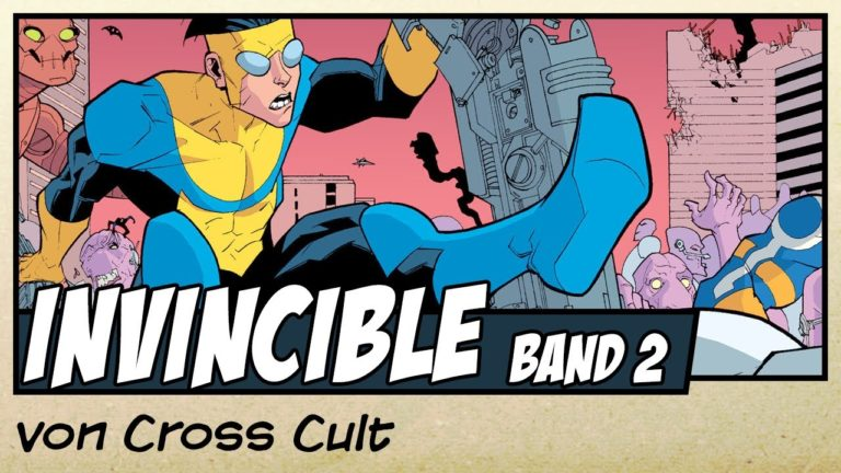 Comicvorstellung: Invincible Band 2 von Cross Cult (Video)