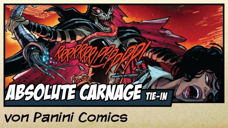 Comicvorstellung: Absolute Carnage – Tödliche Beschützer von Panini Comics (Video)