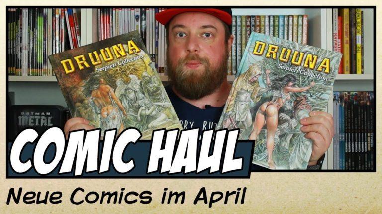 Meine Comic Neuzugänge im April 2020 (Video)